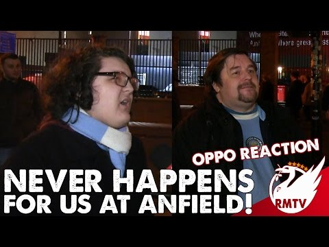 Liverpool v Man City 1-0 | 'It never happens for us at Anfield!' | Oppo Reaction with Citizens TV