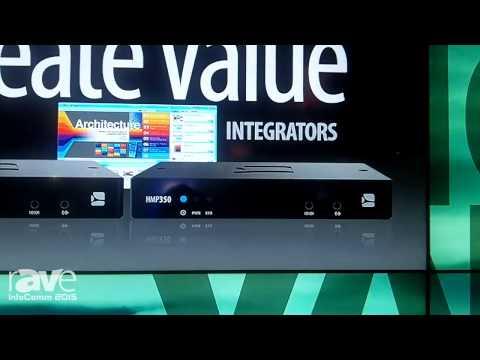 InfoComm 2015: SpinetiX Debuts HMP300 and HMP350
