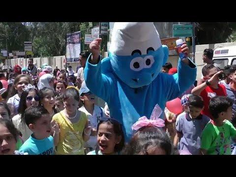 مهرجان إحتفالي في دمشق للأطفال الناجين من الحرب  - نشر قبل 6 ساعة