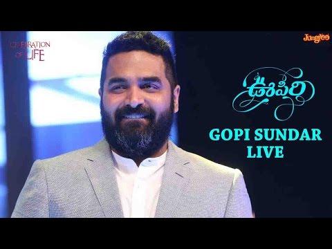 Gopi Sunder Live Performance At Oopiri Audio Launch || Nagarjuna || Karthi || Tamannaah