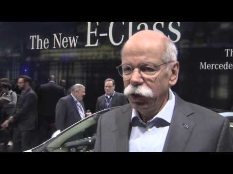 Exclusive Interview Dr Dieter Zetsche Daimler CEO - Mercedes-Benz NAIAS 2016