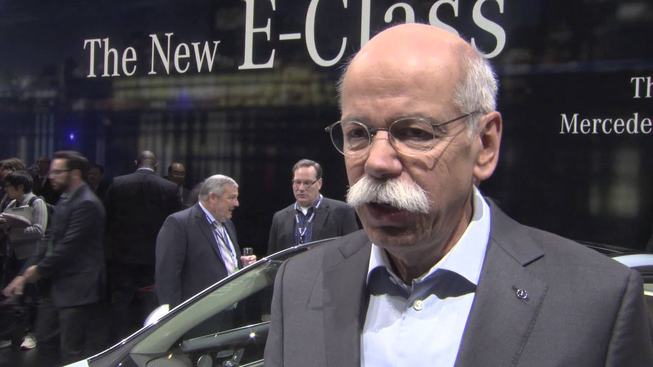 Exclusive interview dr dieter zetsche daimler ceo for Mercedes benz ceo