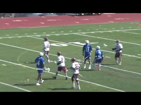 Hunter Watts High School Lacrosse Highlights 2016