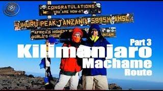 Ascensión al Kilimanjaro por la ruta Machame, 3ª parte / Kilimanjaro climbing Machame route 3rd part