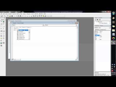 Cara Membuat Tanggal Di Visual Basic 6.0