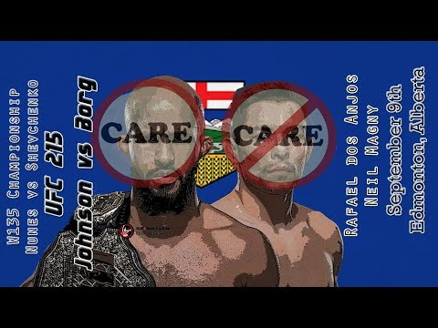 UFC 215 Johnson vs Borg Care/Don't Care Preview