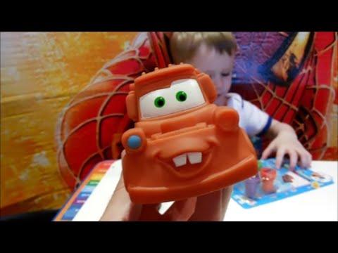 Макс с папой, новые игрушки! Видео для детей