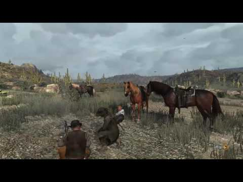 RDR Campfire story about Red Harlow