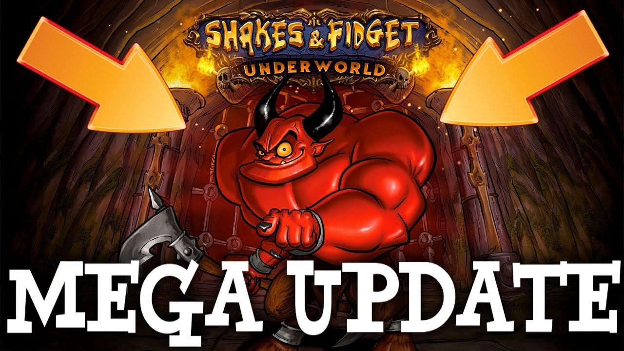MEGA UPDATE! BUDUJEMY KATAKUMBY POD TWIERDZĄ!  – Shakes & Fidget #164