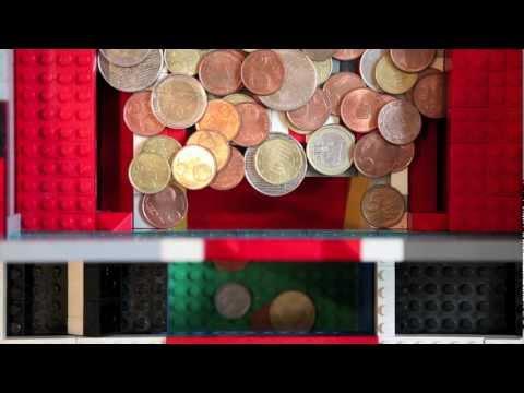 LegoNXT Coin Dozer - Coin Pusher