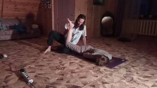 Тайский массаж спина в #VillaJavoronki.