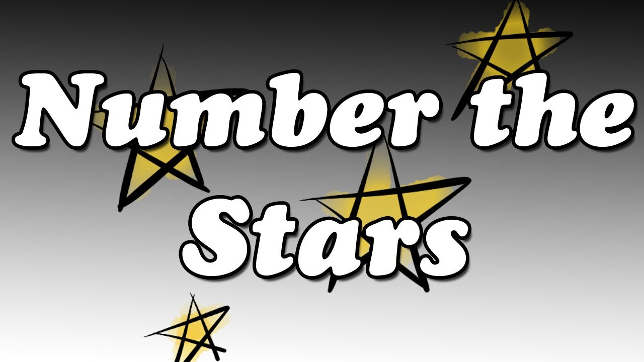 number the stars Use the pre-reading questions and vocabulary builder to introduce students to number the stars by lois lowry after reading the book, engage students with the post-readin.
