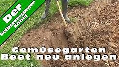 Gemuesegarten Beet neu anlegen