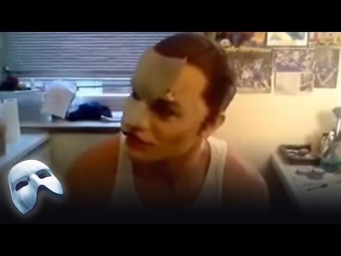 Ramin Karimloo's Makeup! - Behind the Scenes | The Phantom of the Opera