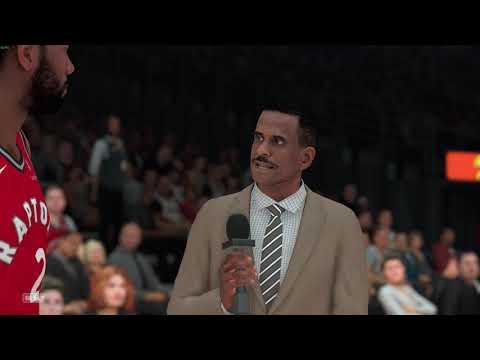 NBA 2K19 Toronto Raptors Vs Portland Trail Blazers Full Gamplay PC