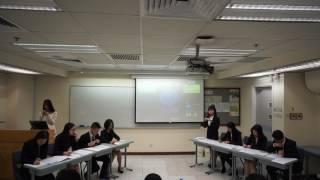 2017年香港新生杯辩论赛初赛第三场 香港理工大学vs香港中