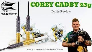 Target Corey Cadby 23g darts review