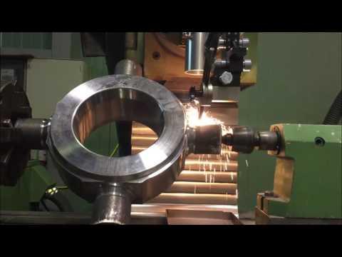 Laser Cladding: Reparación de crucetas para sector siderúrgico