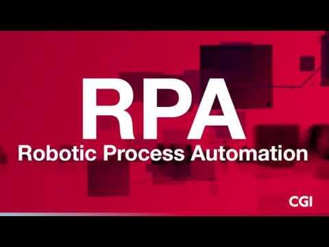 Robotic Process Automation at CGI