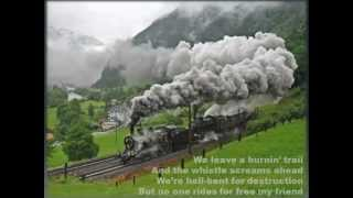 Song of the Day (326) Train Wreck Blues by Thaddeus Dale Johnson