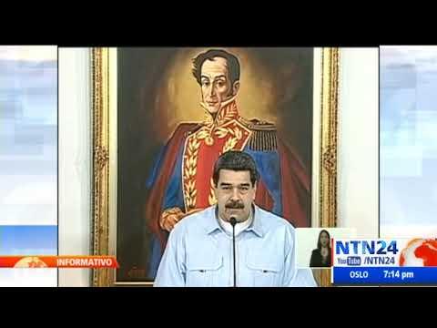 """Maduro: """"que cese la represión infame contra el pueblo de Chile"""""""