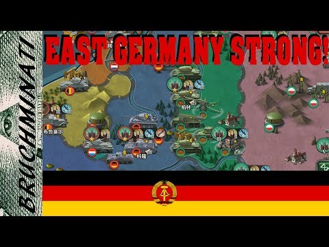 World Conqueror 3 (Hearts of Iron Mod)   1959 East Germany #1 Rip Manstein; It Was A Quick Death!