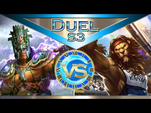 Chaac vs Anhur - Ranked Duel 1v1 - Smite