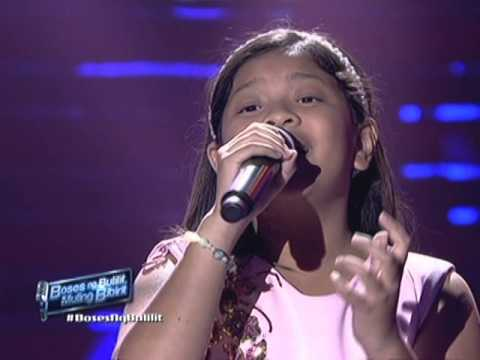 """Elha Nympha sings """"Loving You"""" at The Voice Kids Concert"""