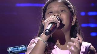 "Elha Nympha sings ""Loving You"" at The Voice Kids Concert"