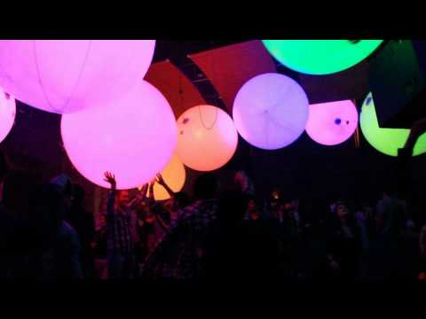 TEAMLAB BALL at DANCITY FESTIVAL 2011 with mjuc