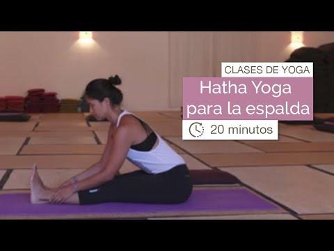 Clase de yoga: Hatha Yoga para la espalda (20 minutos)