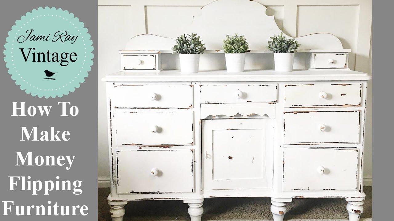 how to make money flipping furniture youtube. Black Bedroom Furniture Sets. Home Design Ideas