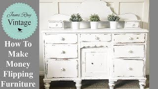 Gambar cover How To Make Money Flipping Furniture