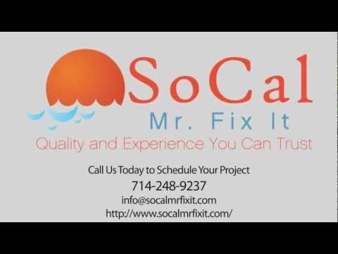 SoCal Mr. Fix It Handyman In Huntington Beach, CA - Orange County (714) 248-9237