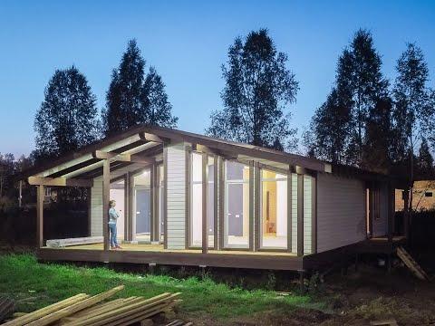 Продаем готовые дома в Новосибирске, коттеджный поселок Скандинавия