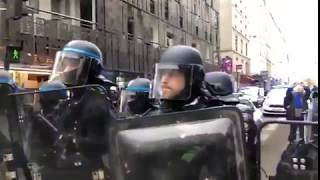 Great response to the Gilets Jaunes protests in France (French riots)