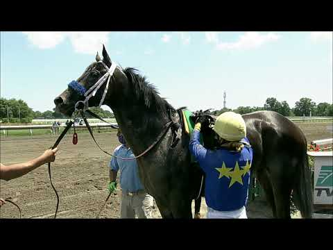 video thumbnail for MONMOUTH PARK 07-25-20 RACE 1