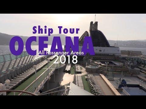 P&O OCEANA 2018 fantastic full ship tour - post refit