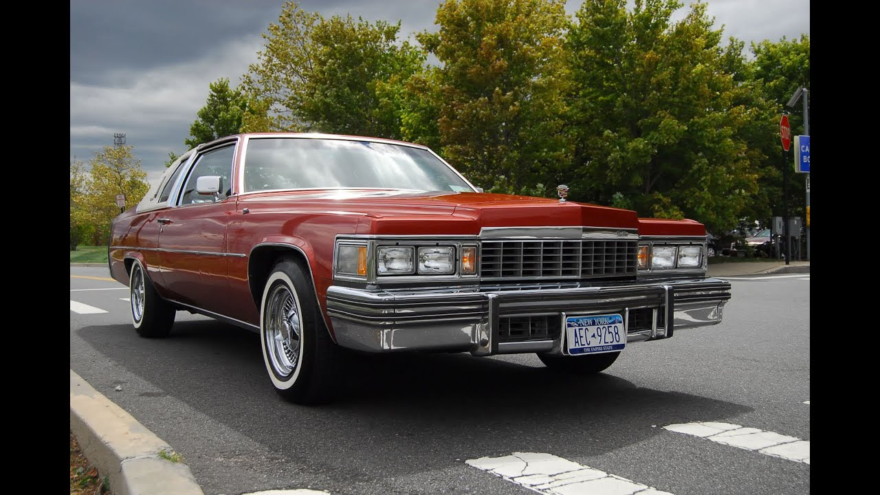 1977 Cadillac Coupe Deville - YouTube