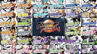Dragon Ball FighterZ - All Character Trailers (Season 1)