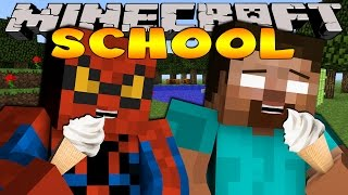 Minecraft School : SAVING THE ICE CREAM MAN!