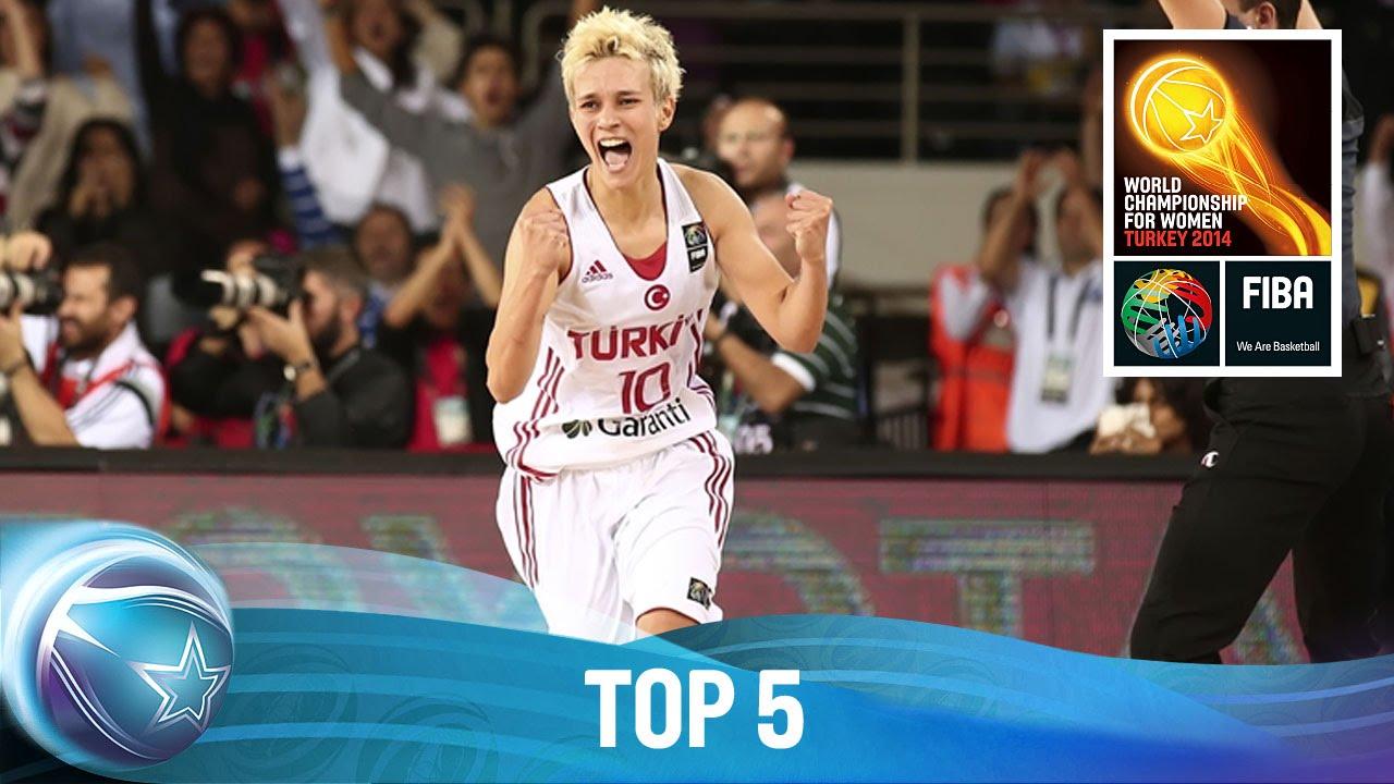 Top 5 - 27 September - 2014 FIBA World Championship for Women