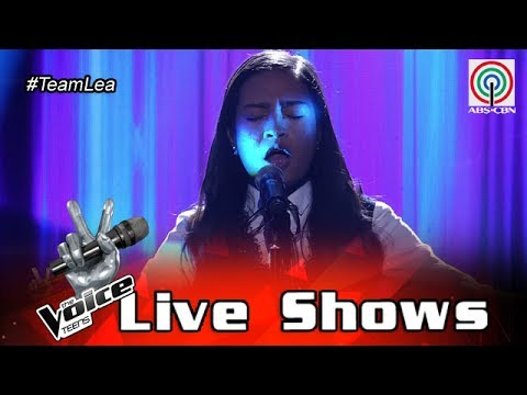 The Voice Teens Philippines Live Show: Mica Becerro - Bridge Over Troubled Water