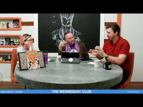 The Wednesday Club - Episode 2  We are Legion (Comics and their depiction of Mental Health)