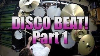 Drum Lessons - Disco Beat Part 1