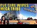 PvE Girl Turns Mega Tribe Into Beta Tribe (Wiping PPG) - Official PvP Server - Ark: Survival Evolved