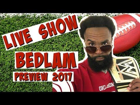 🔴 RJ SO LIVE: BEDLAM Oklahoma Sooners vs. Oklahoma State Cowboys Preview 2017 | Oklahoma Football