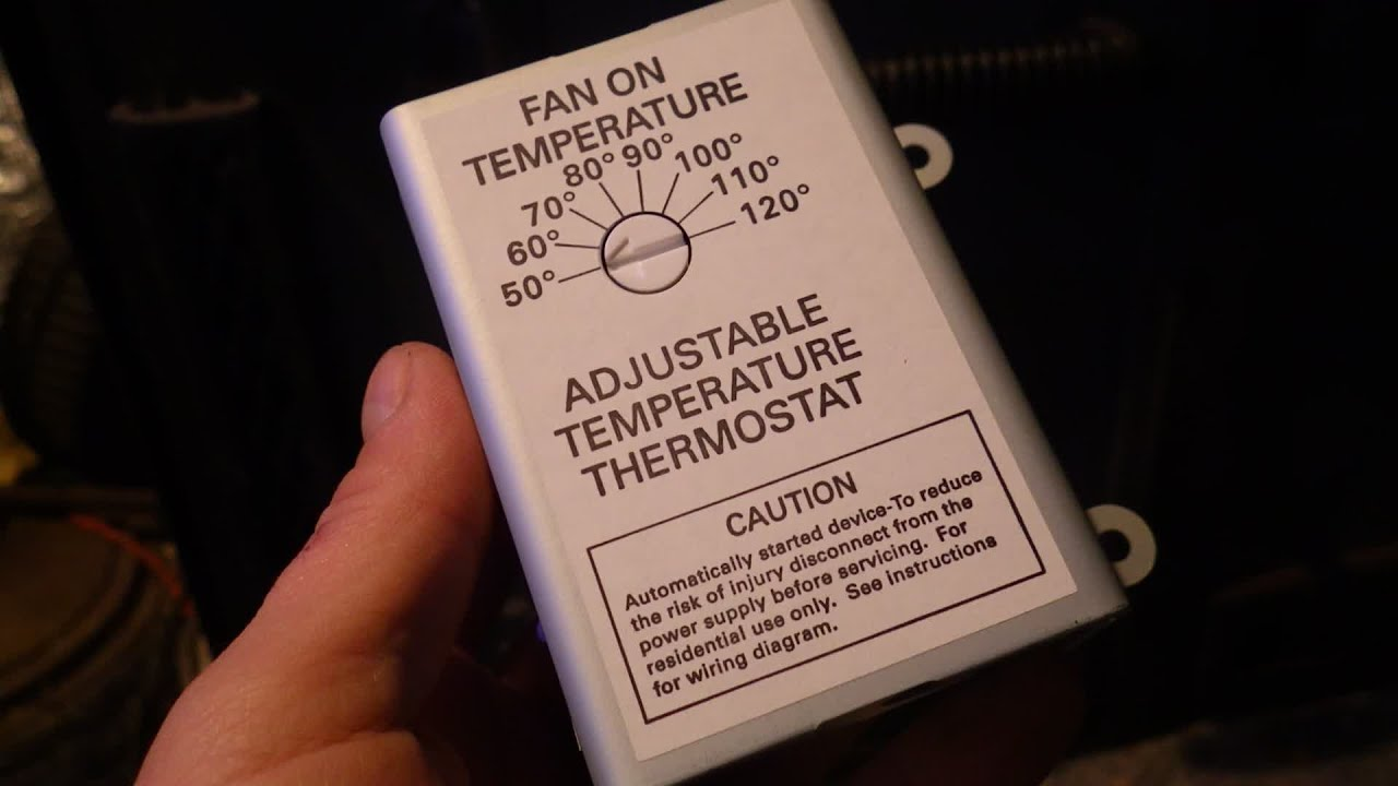 Wood Stove Thermostat (Old Buck Stove)  YouTube