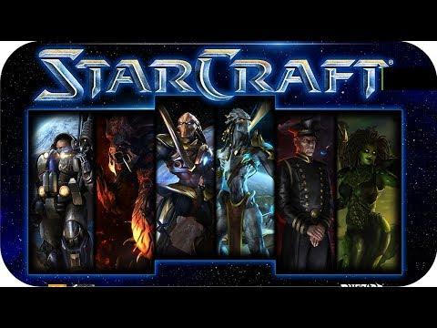 Starcraft Remastered Movie All Cutscenes Episode I Rebel Yell