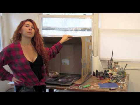 How to build a cheap spray booth airbrush painting secrets youtube how to build a cheap spray booth airbrush painting secrets solutioingenieria Images